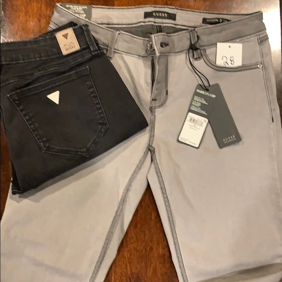 Guess Marilyn 3 Zip Jeans -Skinny Fit- 2 pairs